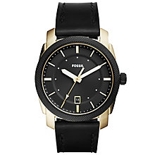 Fossil Men's Gold Tone Strap Watch - Product number 6153127