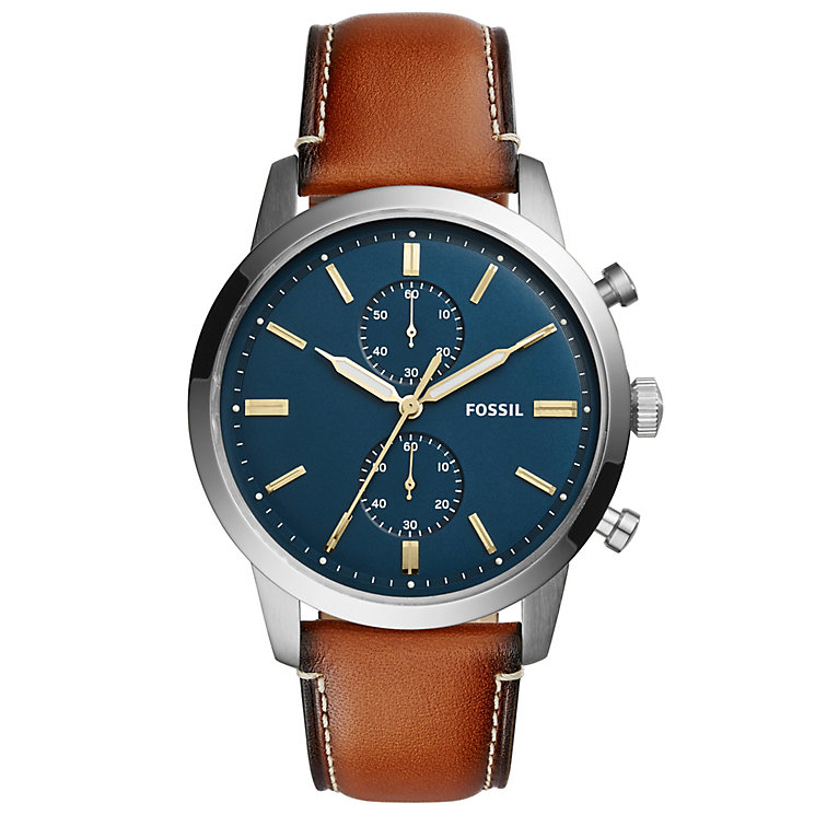 Fossil Townsend Men's Stainless Steel Strap Watch - Product number 6153186