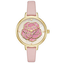 Kate Spade Ladies' Gold Tone Strap Watch - Product number 6153496