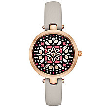 Kate Spade Ladies' Rose Gold Tone Strap Watch - Product number 6153518