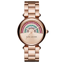 Marc Jacobs Ladies' Rose Gold Tone Bracelet Watch - Product number 6153682