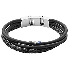 Fossil Men's Leather Bracelet - Product number 6154565