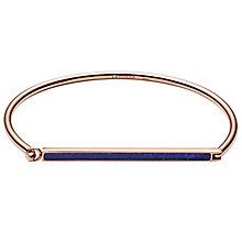 Fossil Rose Gold Tone Blue Bracelet - Product number 6154603