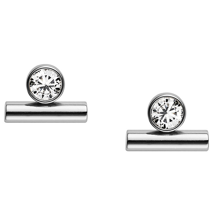 Fossil Glitz Stainless Steel Earrings - Product number 6154689