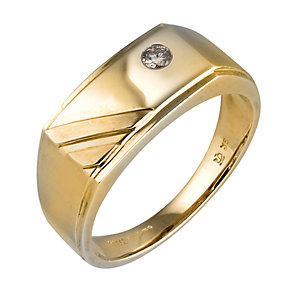 9ct gold diamond set ring - Product number 6156231