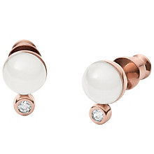 Skagen Seaglass Rose Gold Tone Earrings - Product number 6165184