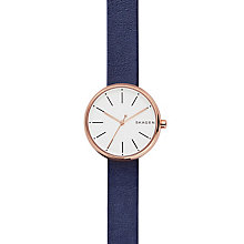 Skagen Ladies' Rose Gold Tone Strap Watch - Product number 6165249