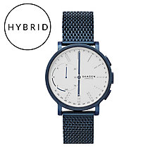 Skagen Connected Men's Blue Ion Plated Hybrid Smartwatch - Product number 6165273