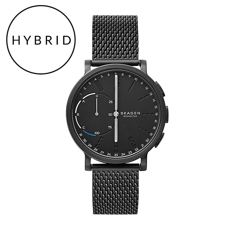 Skagen Connected Men's Black Ion Plated Hybrid Smartwatch - Product number 6165281