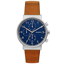 Skagen Men's Stainless Steel Strap Watch - Product number 6165338