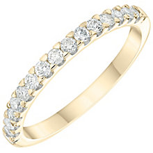 9ct Yellow Gold 0.33ct Diamond Wedding Band - Product number 6166784