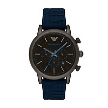 Emporio Armani Men's Ion Plated Strap Watch - Product number 6171478