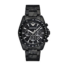 Emporio Armani Men's Ion Plated Bracelet Watch - Product number 6171583