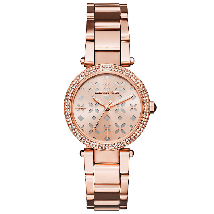 Michael Kors Ladies' Rose Gold Tone Bracelet Watch - Product number 6171826