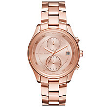 Michael Kors Ladies' Rose Gold Tone Bracelet Watch - Product number 6171842
