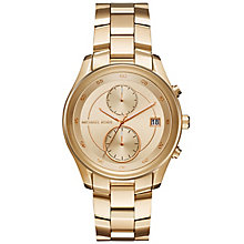 Michael Kors Ladies' Gold Tone Bracelet Watch - Product number 6171850