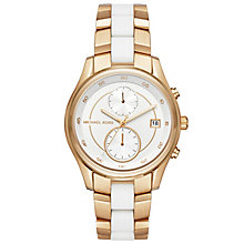 Michael Kors Ladies' Gold Tone Bracelet Watch - Product number 6171869