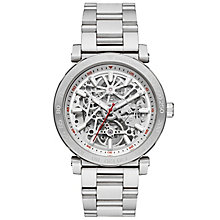 Michael Kors Men's Stainless Steel Bracelet Skeleton Watch - Product number 6171915