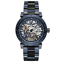 Michael Kors Men's Blue Ion Plated Bracelet Watch - Product number 6171931