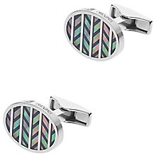 Emporio Armani Stainless Steel Mother of Pearl Cufflinks - Product number 6175279