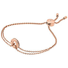 Michael Kors Rose Gold Tone Stone Set Bracelet - Product number 6175473