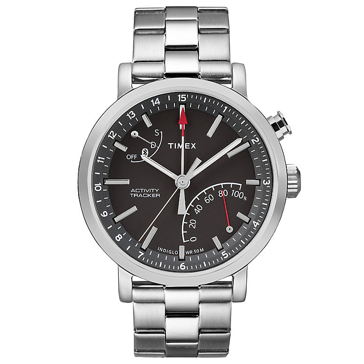 Timex Metropolitan Silver Tone Smartwatch - Product number 6175589