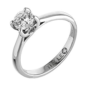 Leo Diamond platinum 1.00ct I-SI2 solitaire ring - Product number 6176283