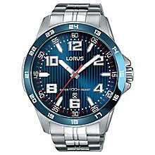 Lorus Men's Water Resistant Sports Bracelet Watch - Product number 6183468