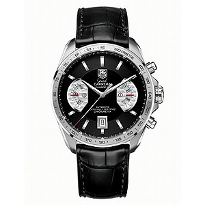 TAG Heuer Grand Carrera Cailbre 17 men's black strap watch - Product number 6187544
