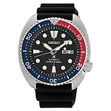 Seiko Men's Automatic Diver's Black Strap Watch - Product number 6188095