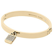 Michael Kors Gold Tone Stone Set Bangle - Product number 6188222