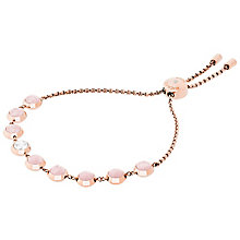 Michael Kors Rose Gold Tone Rose Quartz Bracelet - Product number 6188249