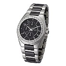 Accurist men's stainless steel and ceramic bracelet watch - Product number 6192785
