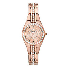Relic Queens Court Ladies' Rose-Tone Bracelet Watch - Product number 6193471