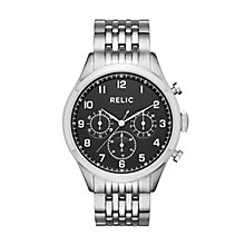 Relic Henry Men's Stainless Steel Bracelet Watch - Product number 6193536