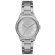 Armani Exchange Ladies' Stainless Steel Bracelet Watch - Product number 6194028