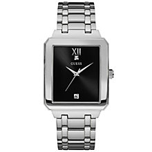 Guess Diamond Set Black Dial Stainless Steel Bracelet Watch - Product number 6195040