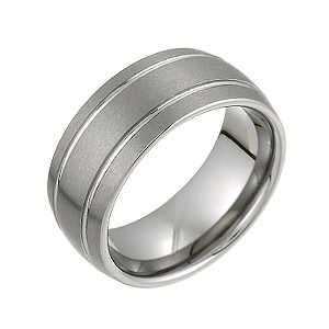 Tungsten Signet Ring