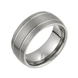 Tungsten Signet Ring