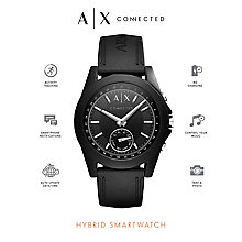 Armani Exchange Connected Men's Black Hybrid Smartwatch - Product number 6202594