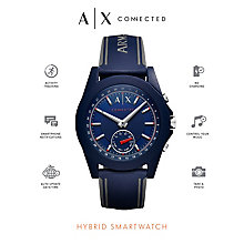Armani Exchange Connected Men's Blue Hybrid Smartwatch - Product number 6202608