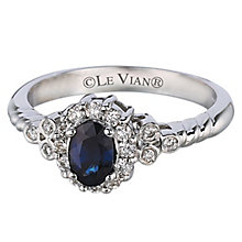 Le Vian 14ct Vanilla Gold Sapphire & 0.24ct Diamond Ring - Product number 6207057