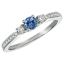Le Vian 14ct Vanilla Gold Blueberry Tanzanite & Diamond Ring - Product number 6207650