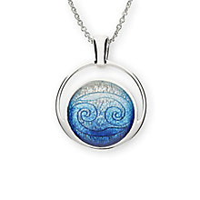 Ortak Sterling Silver Zodiac Cancer Pendant - Product number 6209408