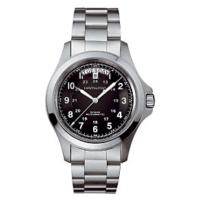 Hamilton men's stainless steel bracelet watch - Product number 6209688