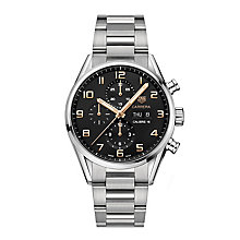 TAG Heuer Carrera Men's Stainless Steel Bracelet Watch - Product number 6211615