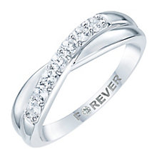 Platinum 0.28 Carat Forever Diamond Eternity Ring - Product number 6213731