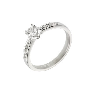 18ct Forever Diamond Solitaire Ring