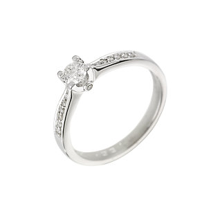 The Forever Diamond - 18ct White Gold 1/3 Carat Diamond Ring - Product number 6215572