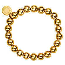 Tommy Hilfiger Gold Plated Beaded Bracelet - Product number 6222811